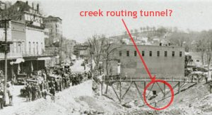 Creek Routing Tunnel